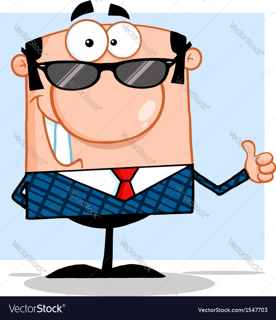 Cool teacher with glasses vector | Price: 1 Credit (USD $1)