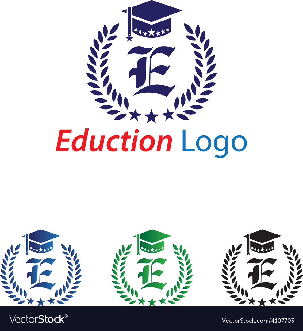 Eduction logo vector | Price: 1 Credit (USD $1)