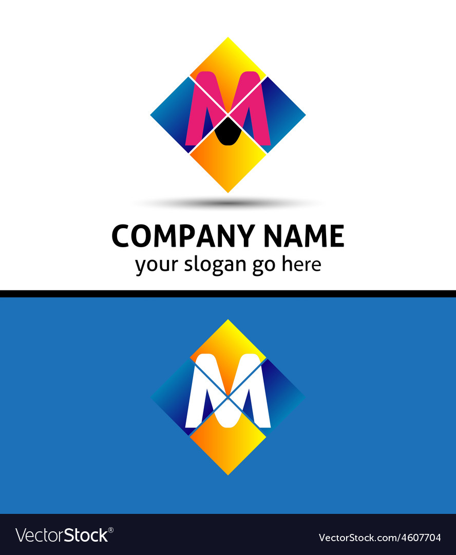 Letter m logo vector | Price: 1 Credit (USD $1)