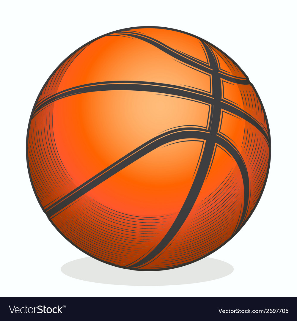 Basketball ball vector | Price: 1 Credit (USD $1)