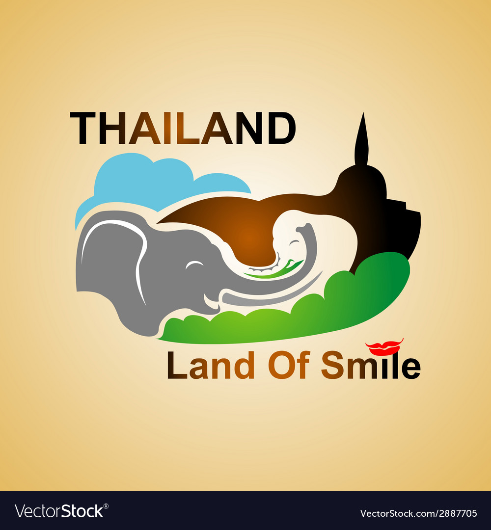 Land of smile vector | Price: 1 Credit (USD $1)