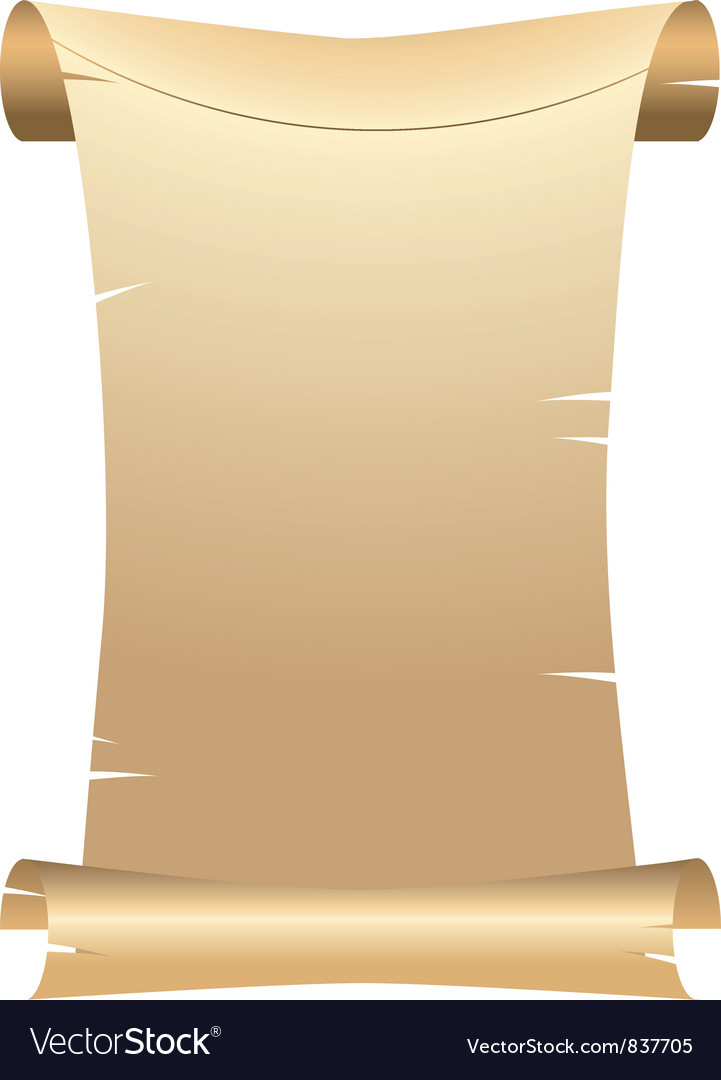 Old scroll paper vector   Price: 1 Credit (USD $1)