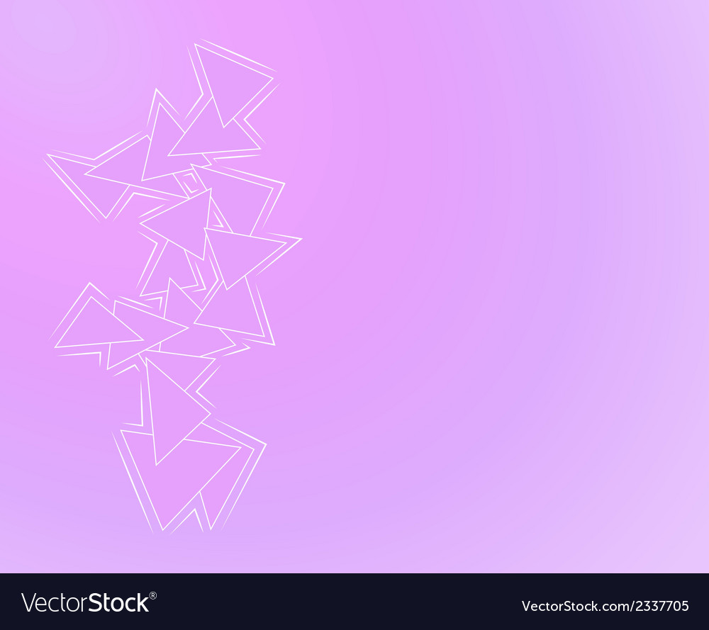 Purple background with triangles vector | Price: 1 Credit (USD $1)