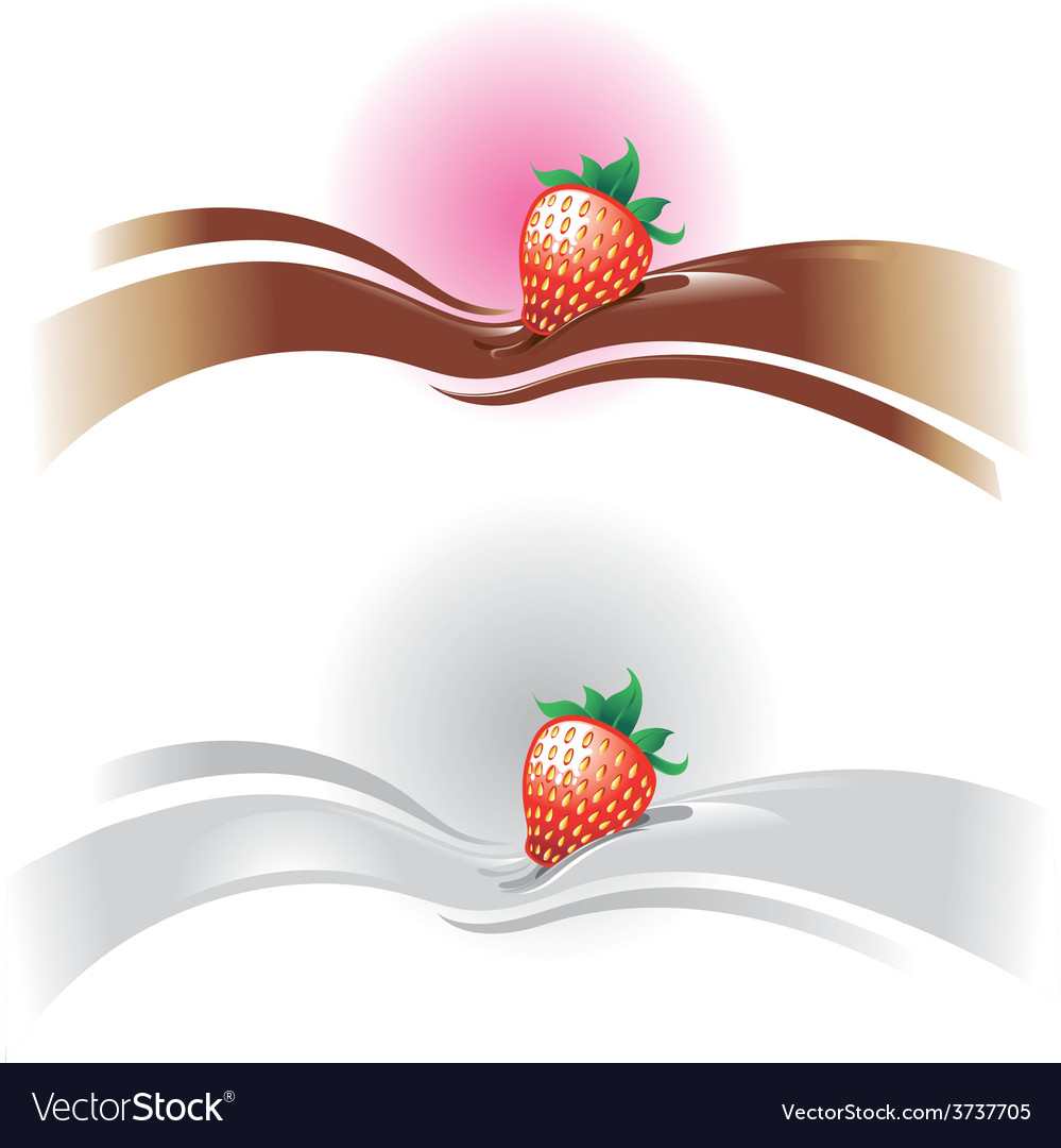 Strawberrywave vector | Price: 1 Credit (USD $1)