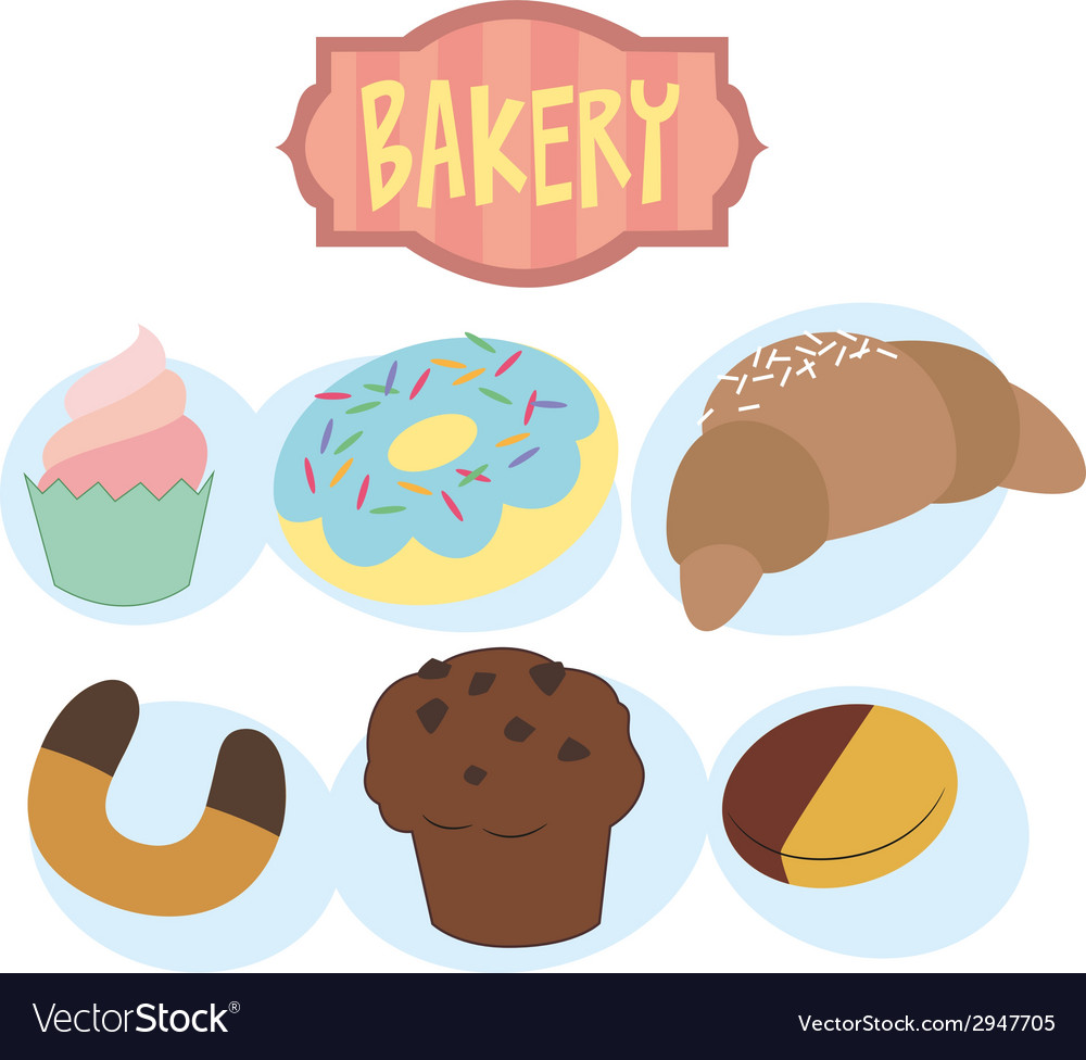 Sweet bakery vector | Price: 1 Credit (USD $1)