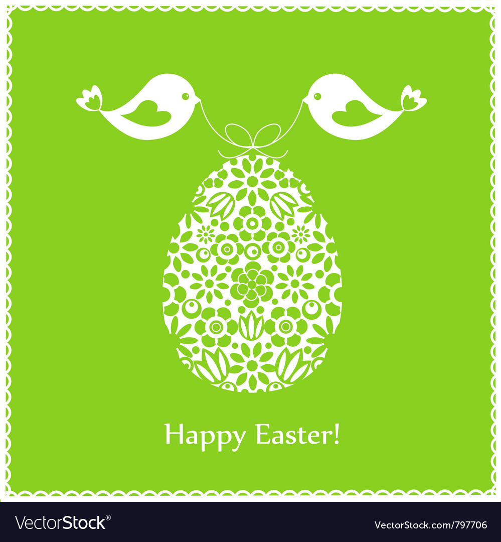 Green greeting card vector | Price: 1 Credit (USD $1)