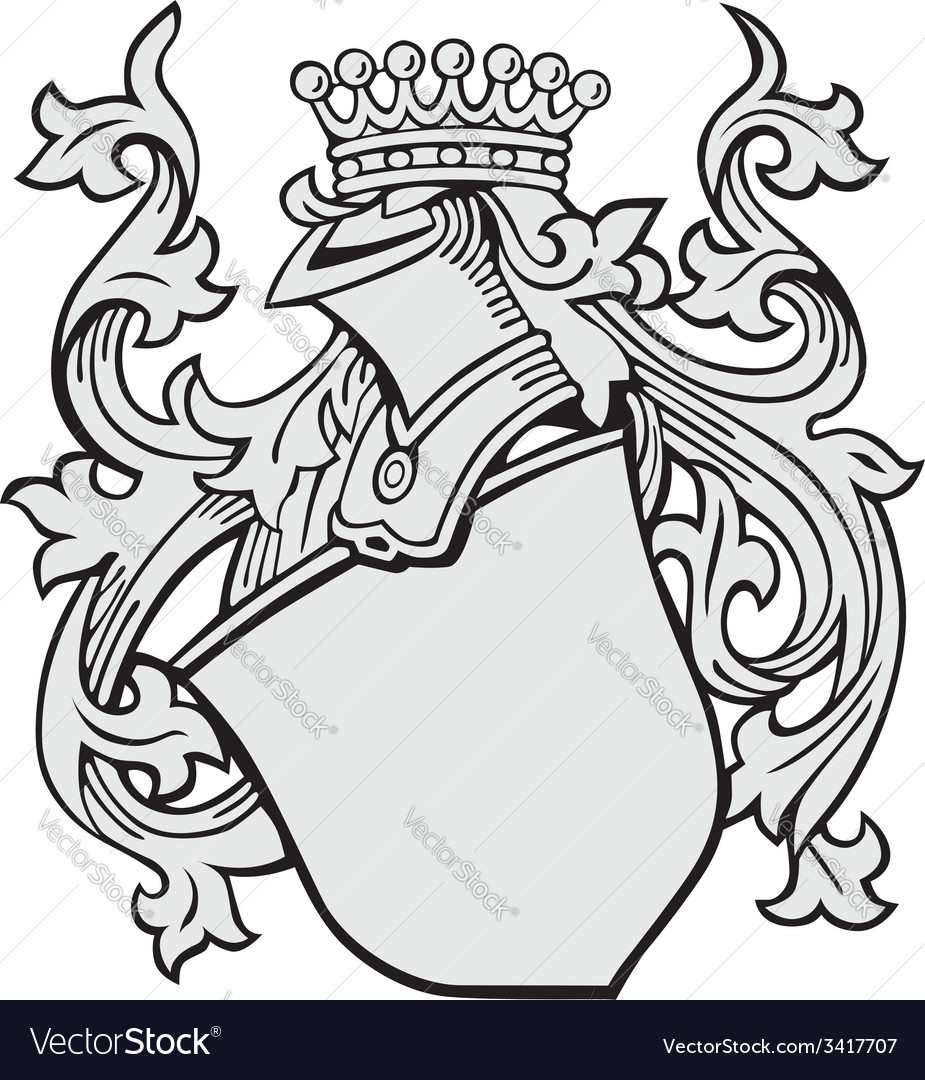 Aristocratic emblem no3 vector | Price: 1 Credit (USD $1)