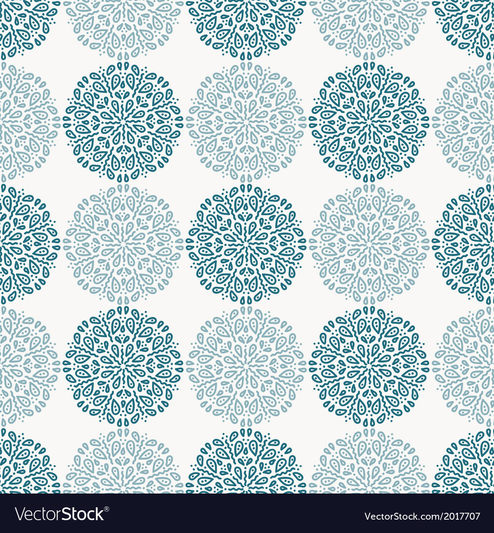 Navy blue lace flower pattern on white background vector | Price: 1 Credit (USD $1)