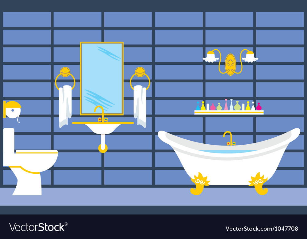 Bathroom vector | Price: 1 Credit (USD $1)
