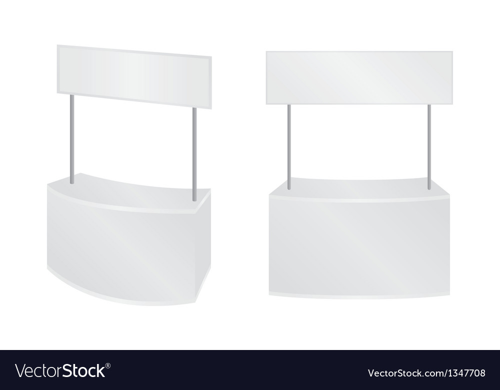 Blank advertising banner vector | Price: 1 Credit (USD $1)