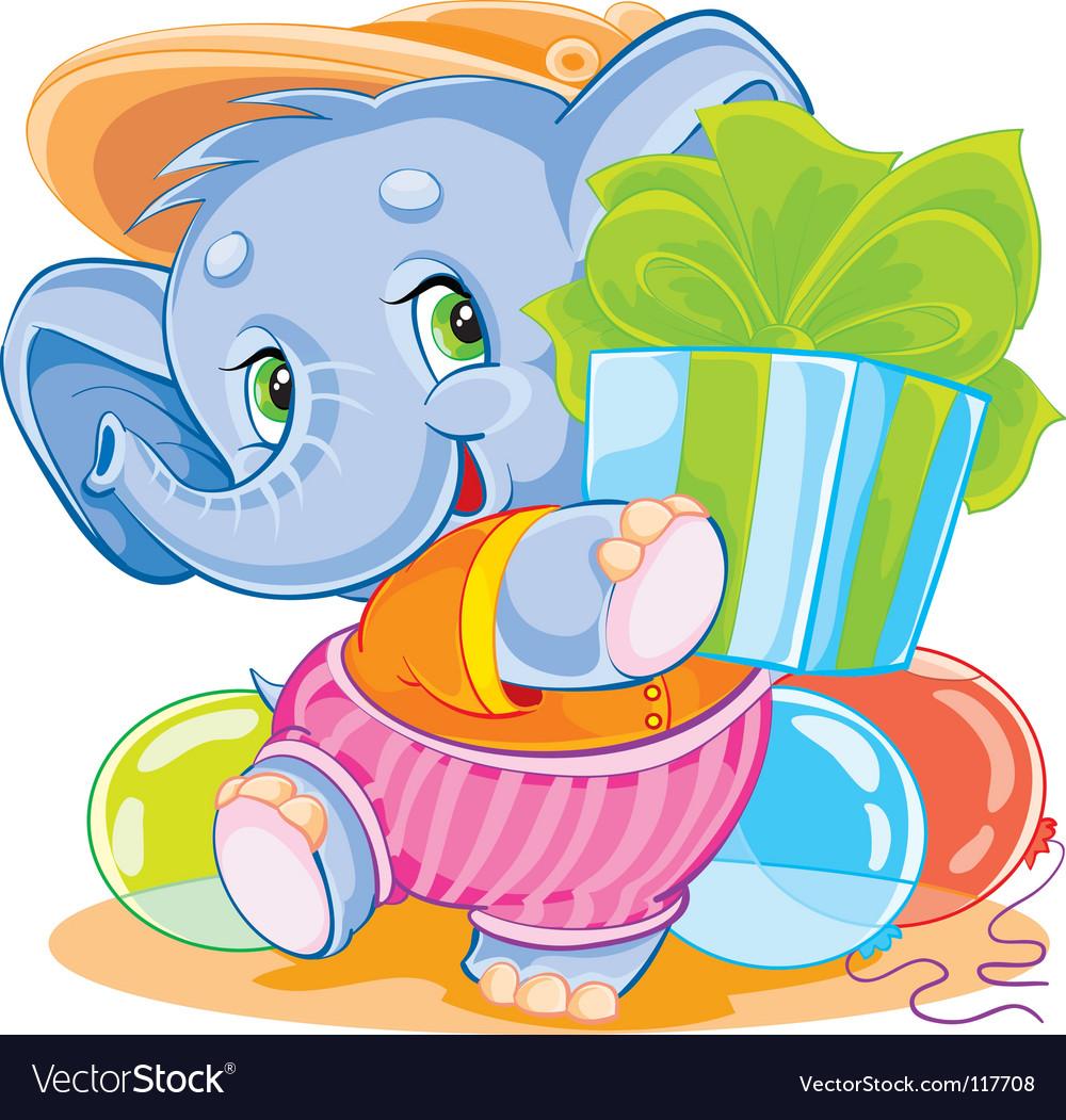 Elephant vector | Price: 3 Credit (USD $3)