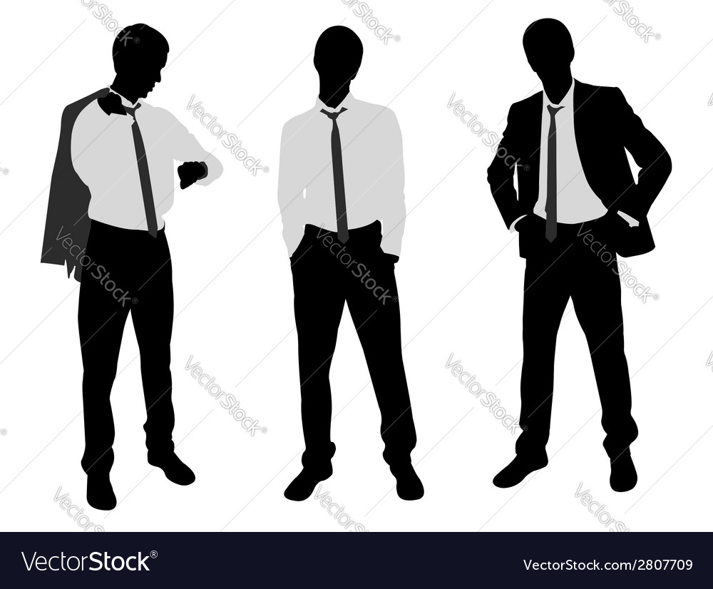 Young businessman vector | Price: 1 Credit (USD $1)