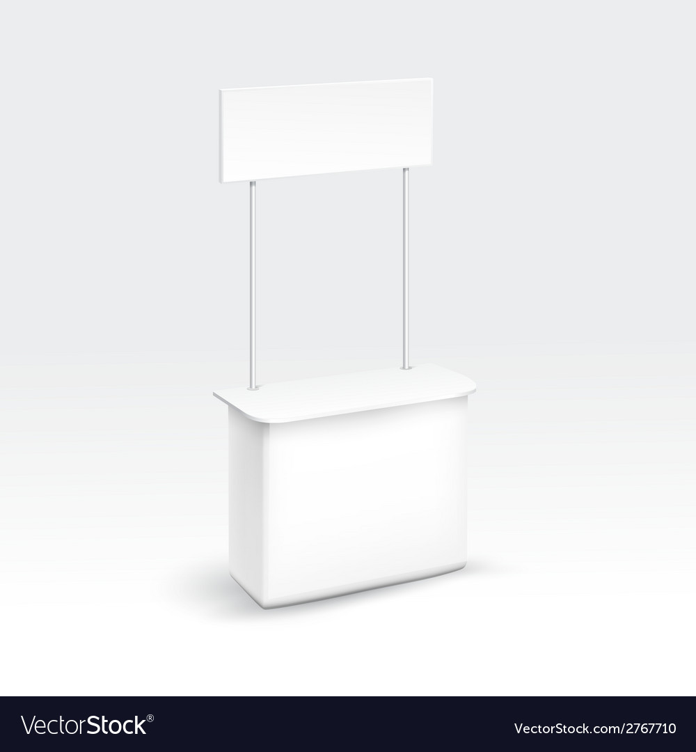 Blank exhibition trade stand vector | Price: 1 Credit (USD $1)