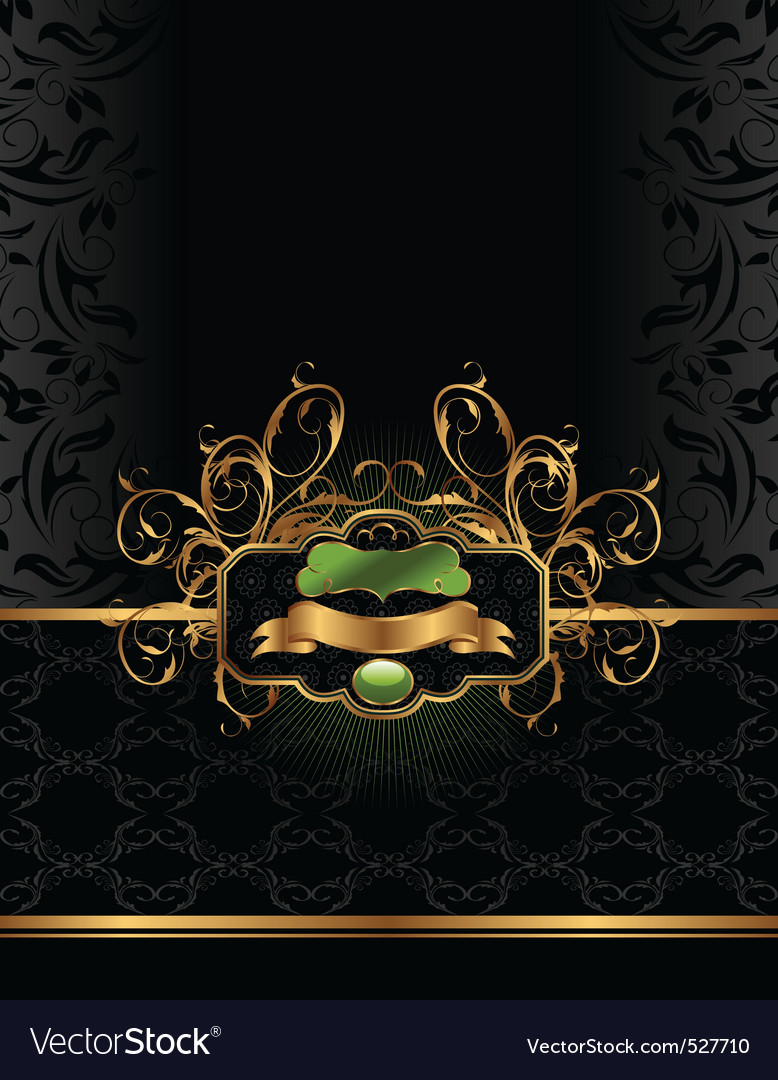 Golden luxury background vector | Price: 1 Credit (USD $1)