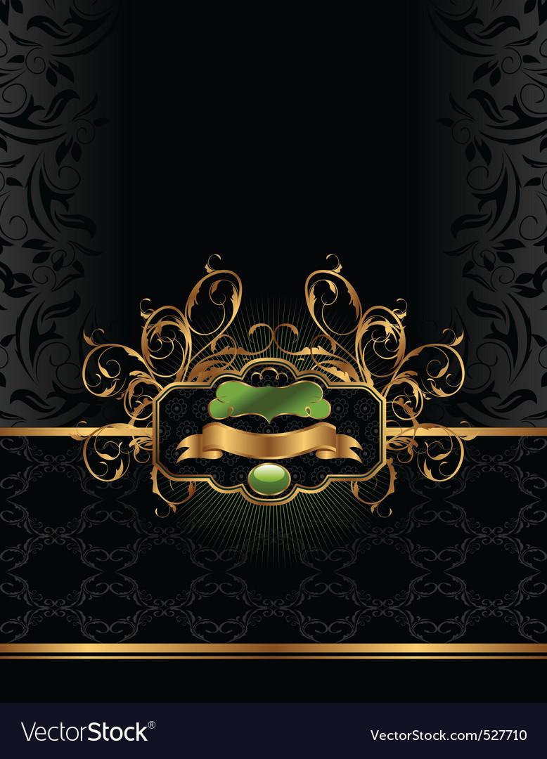 Golden luxury background vector | Price: 1 Credit (USD $1)