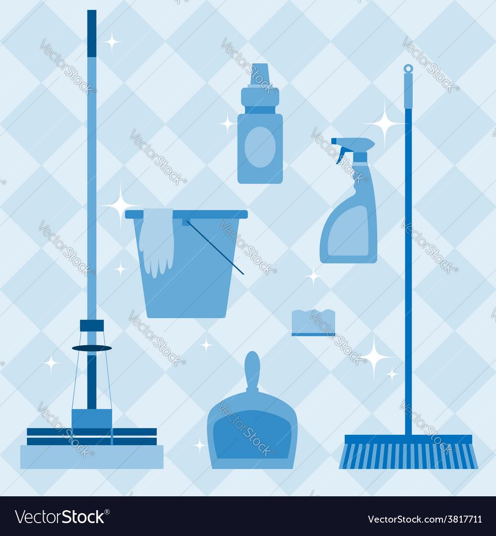 Domestic tools set vector | Price: 1 Credit (USD $1)