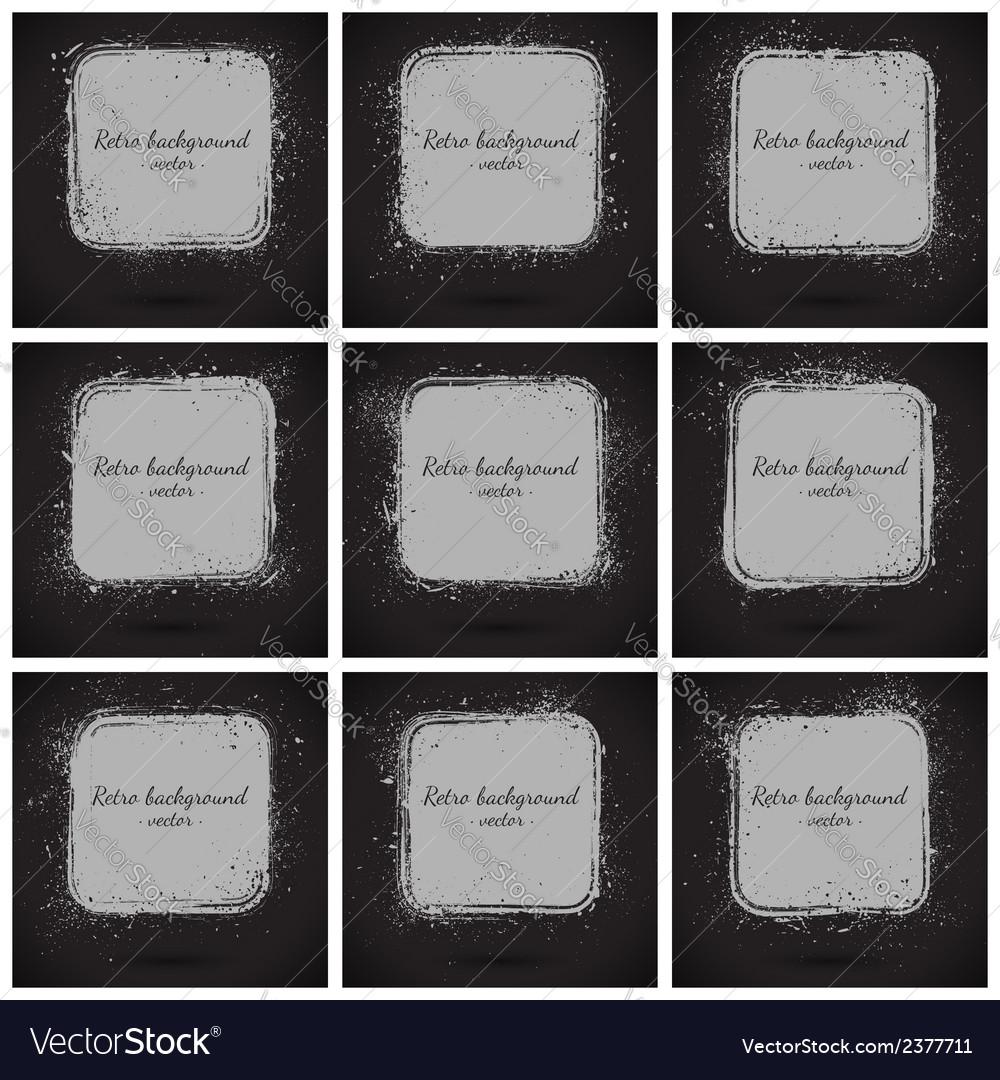 Grunge retro background vector   Price: 1 Credit (USD $1)