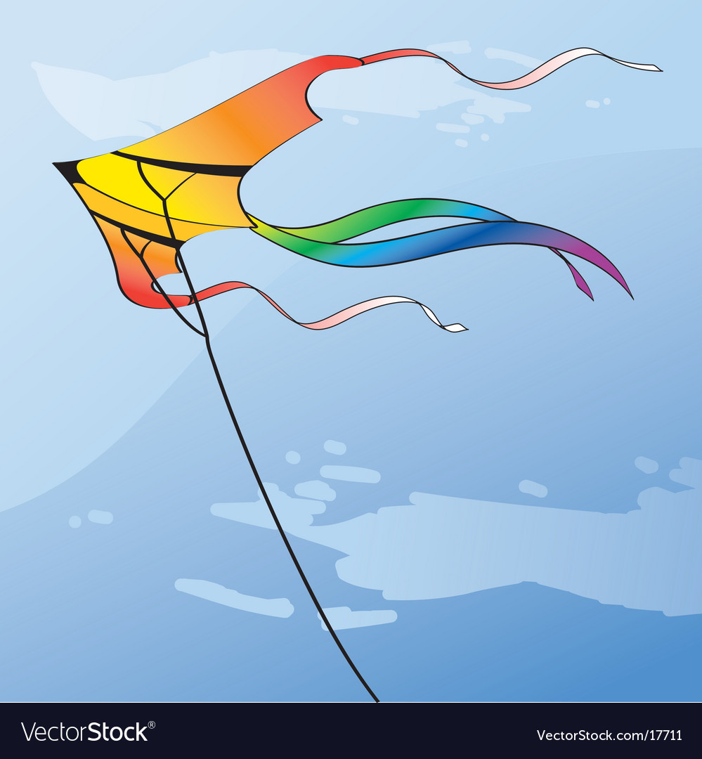 Multicolor kite vector   Price: 1 Credit (USD $1)