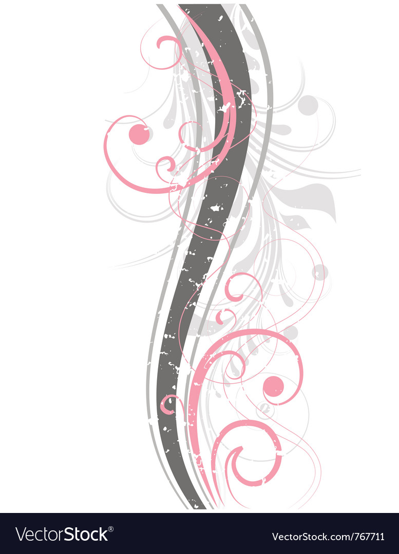Pink abstraction vector | Price: 1 Credit (USD $1)