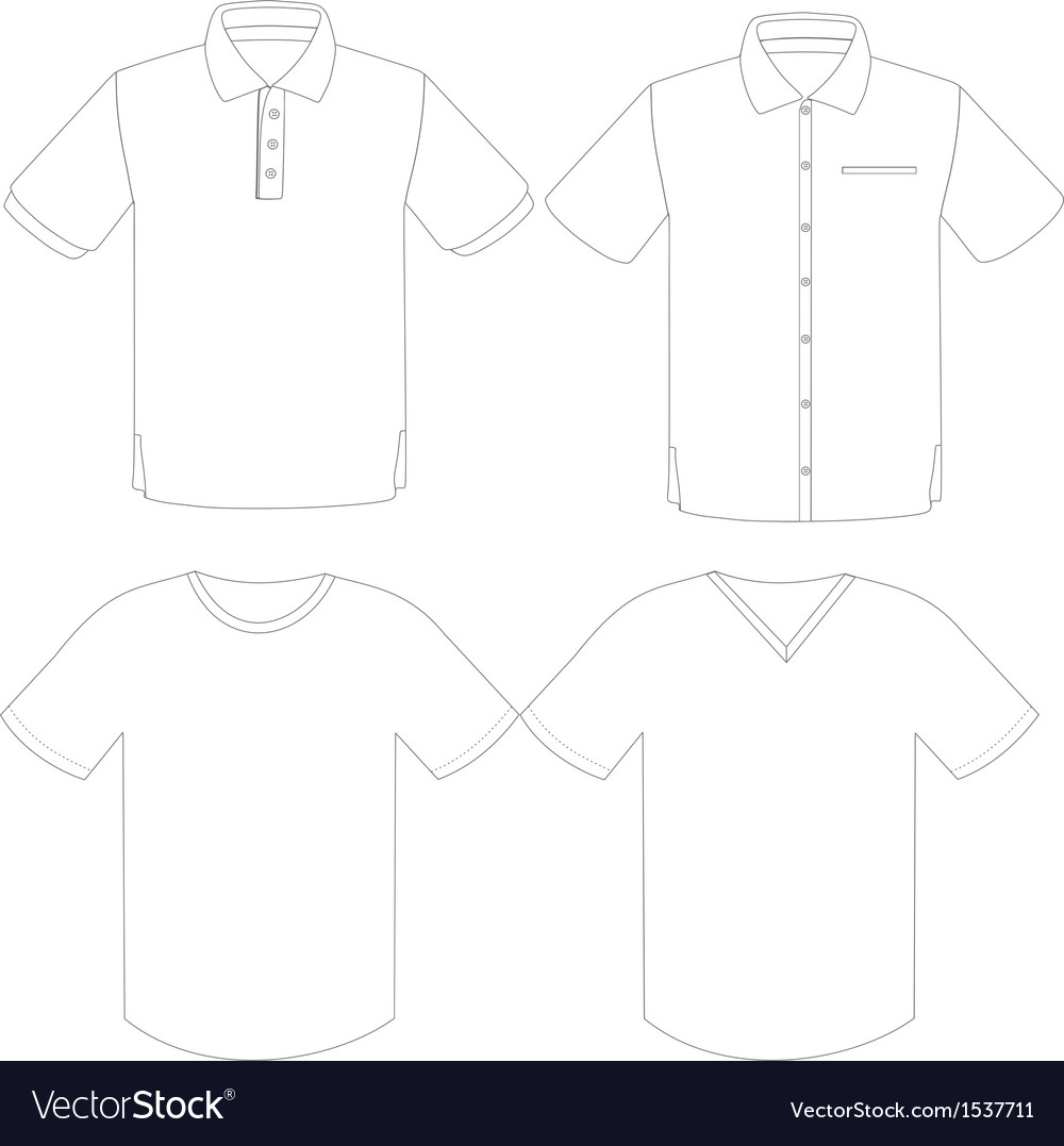 Tshirt vector | Price: 1 Credit (USD $1)