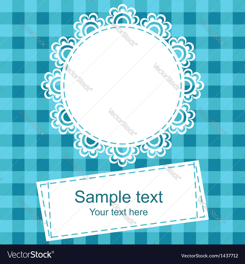 Framework for invitation or congratulation vector | Price: 1 Credit (USD $1)