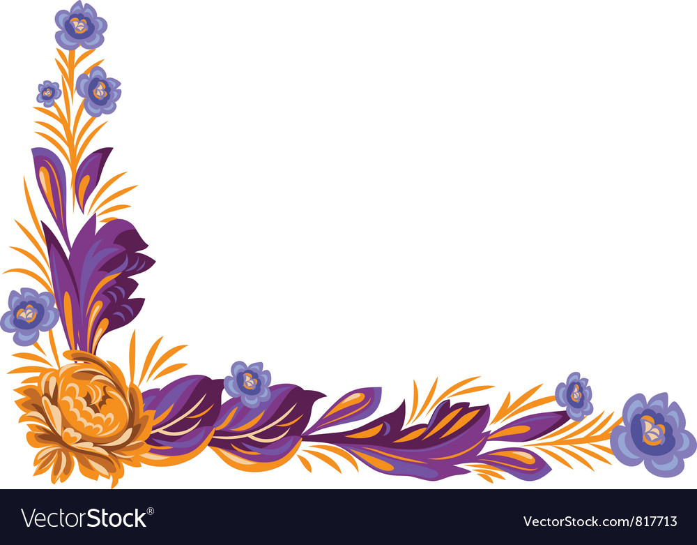 Flower ornament vector   Price: 3 Credit (USD $3)