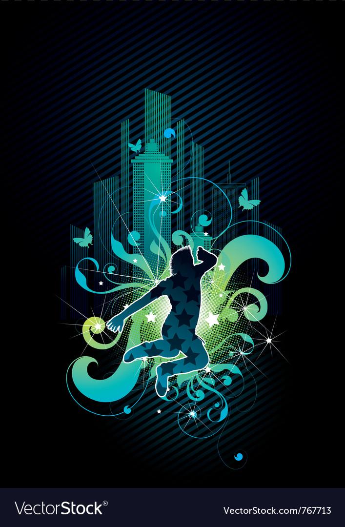 Urban jumper vector | Price: 1 Credit (USD $1)