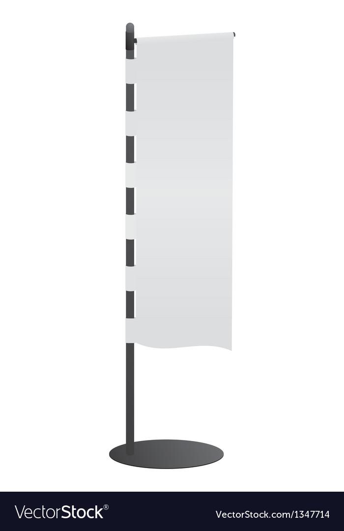 Blank banner vector | Price: 1 Credit (USD $1)