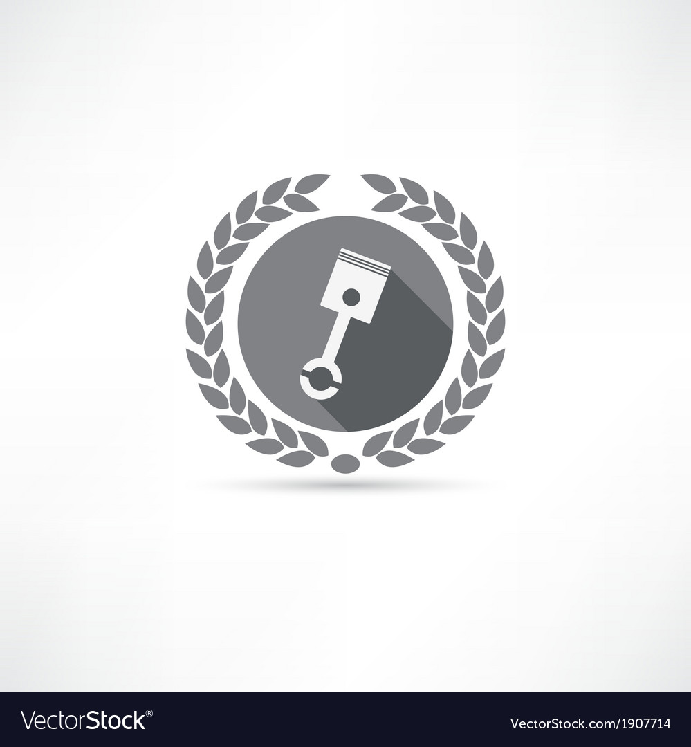 Piston icon vector | Price: 1 Credit (USD $1)