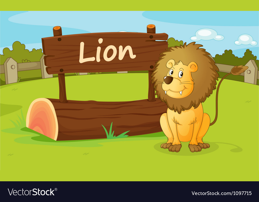 A lion vector | Price: 1 Credit (USD $1)