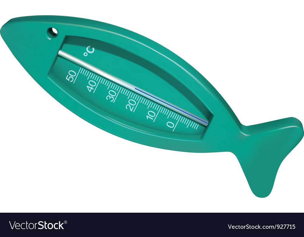 Bath thermometer vector | Price: 3 Credit (USD $3)