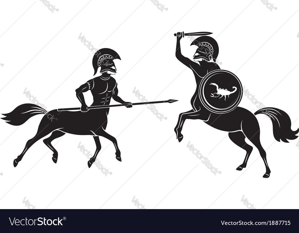 Centaurs vector | Price: 1 Credit (USD $1)