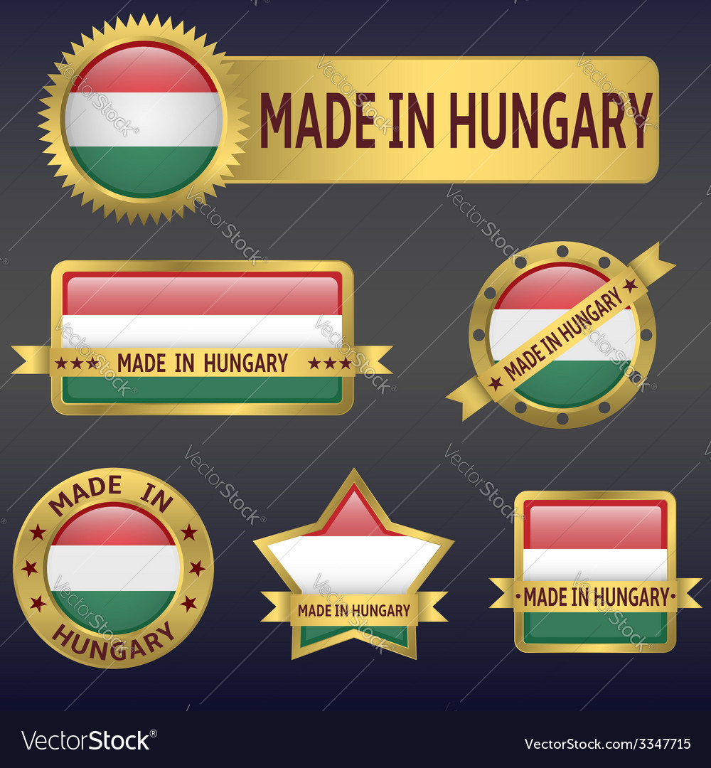 Made in hungary vector | Price: 3 Credit (USD $3)