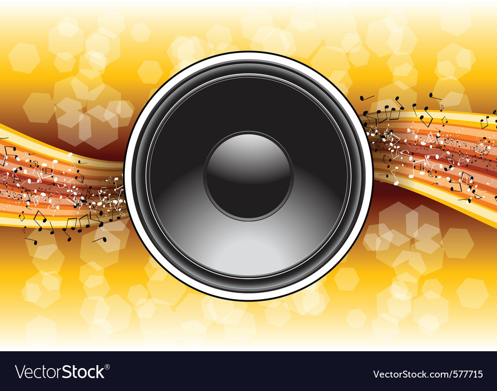 Speaker background vector | Price: 3 Credit (USD $3)