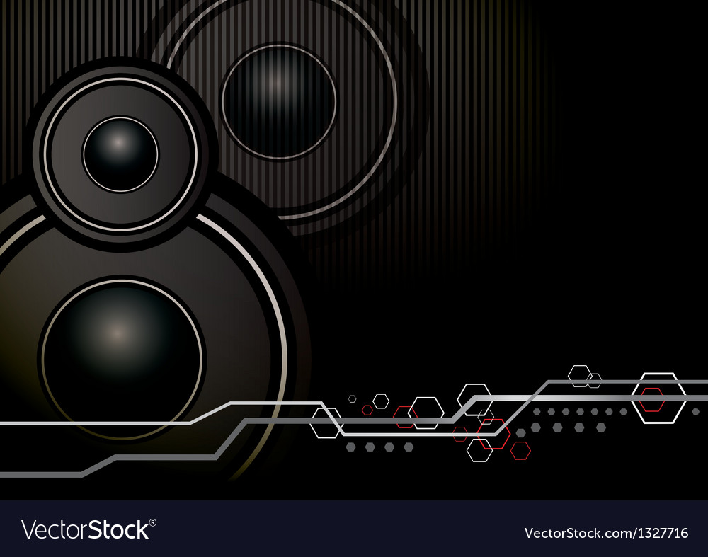 Music background design vector | Price: 1 Credit (USD $1)