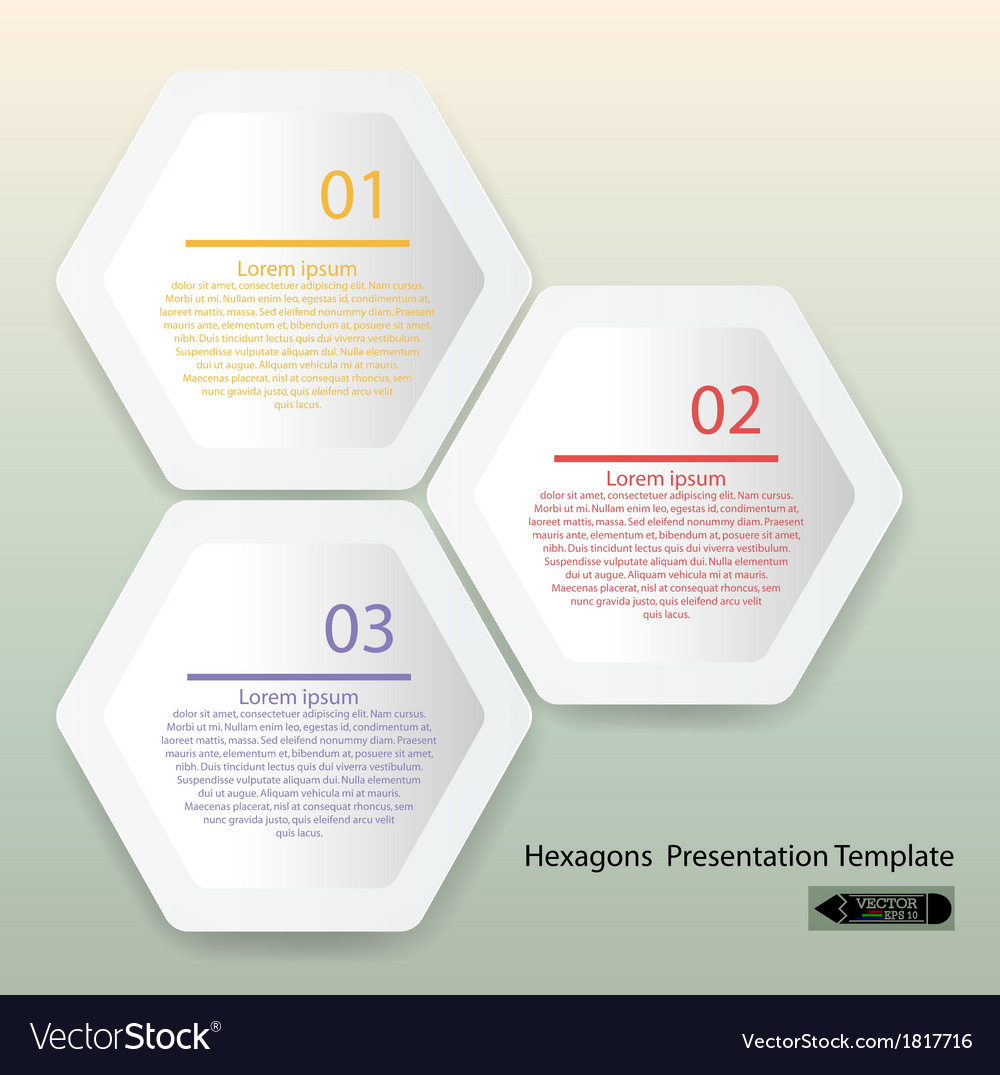 Presentation template vector | Price: 1 Credit (USD $1)
