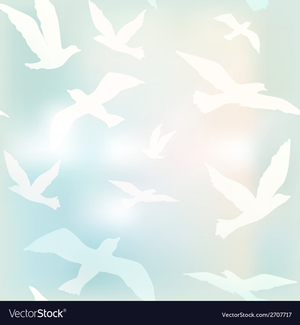 Bird fly vector | Price: 1 Credit (USD $1)