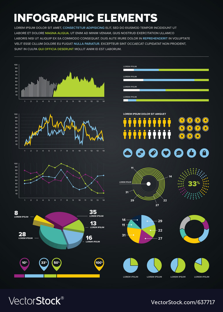 Infographic elements vector | Price: 3 Credit (USD $3)