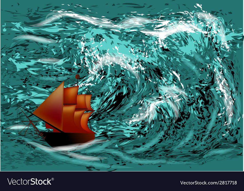 Ocean hurricane vector   Price: 1 Credit (USD $1)