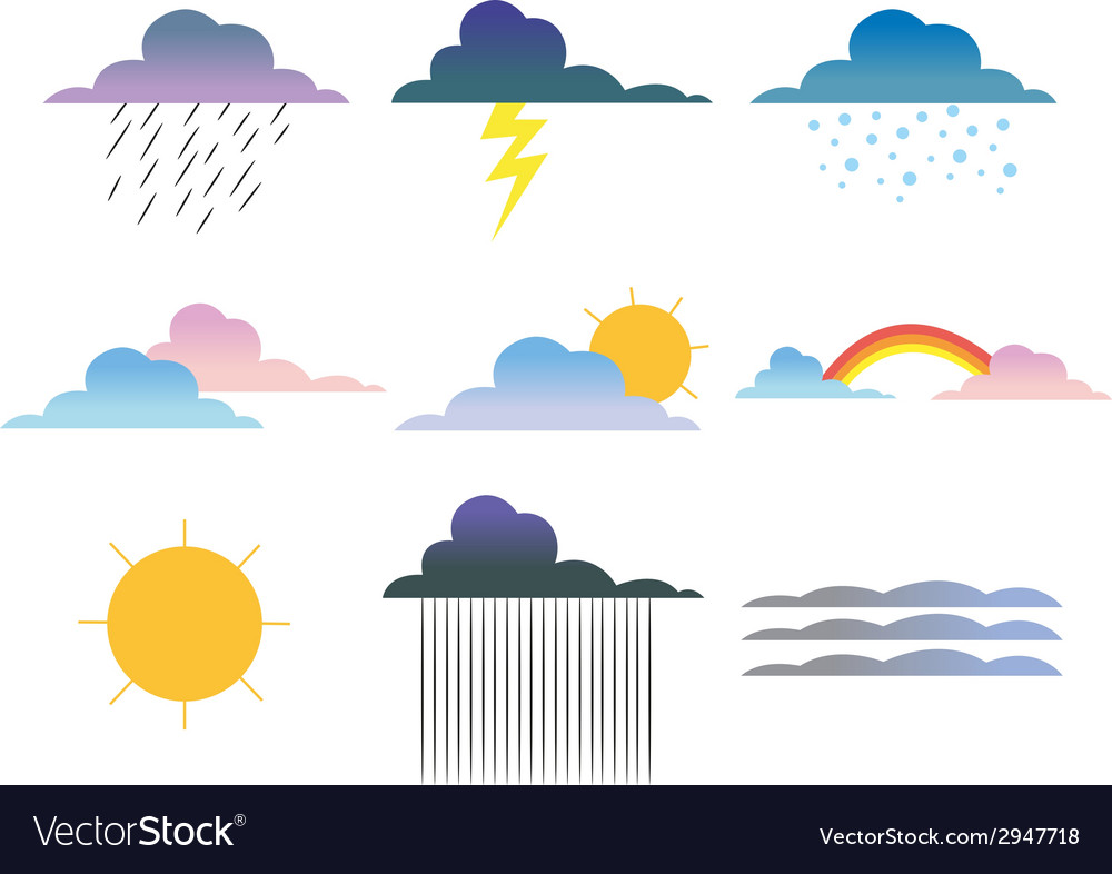 Weather vector | Price: 1 Credit (USD $1)
