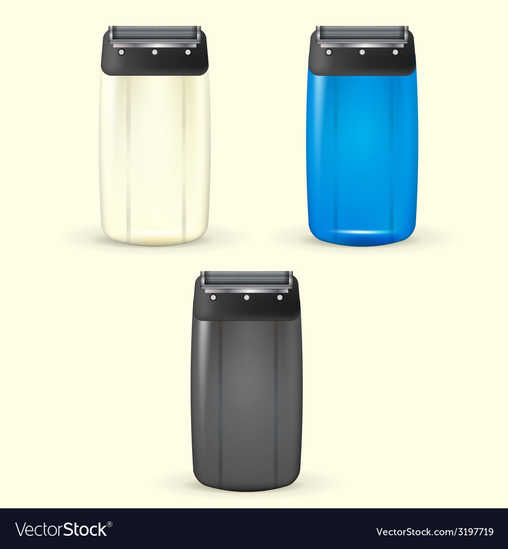 Electric shavers vector | Price: 1 Credit (USD $1)