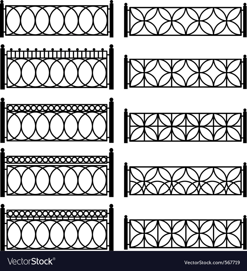 Metal lattices vector | Price: 1 Credit (USD $1)
