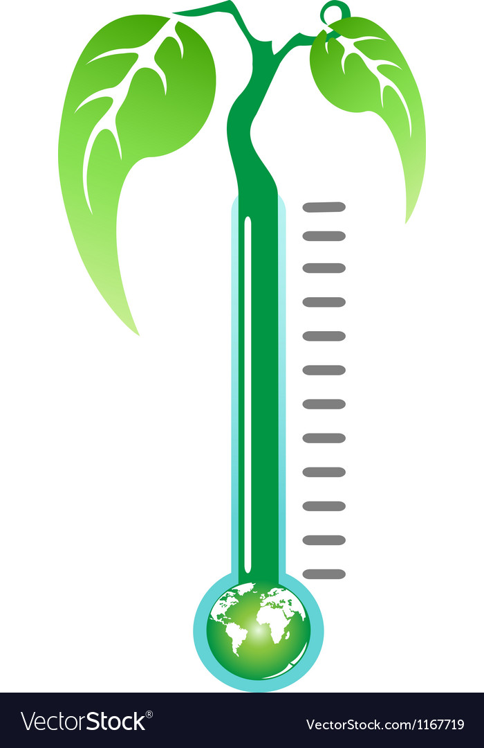 Thermometer plant vector | Price: 1 Credit (USD $1)