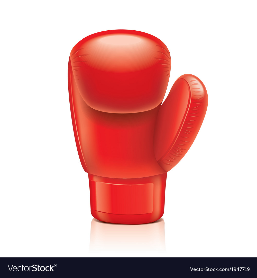 Object boxing glove vector | Price: 1 Credit (USD $1)