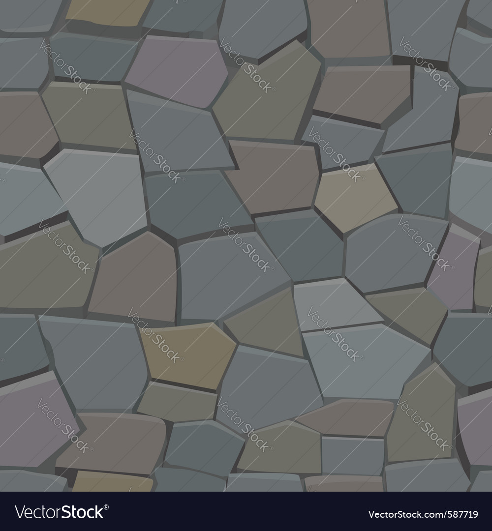 Stone seamless pattern vector | Price: 1 Credit (USD $1)