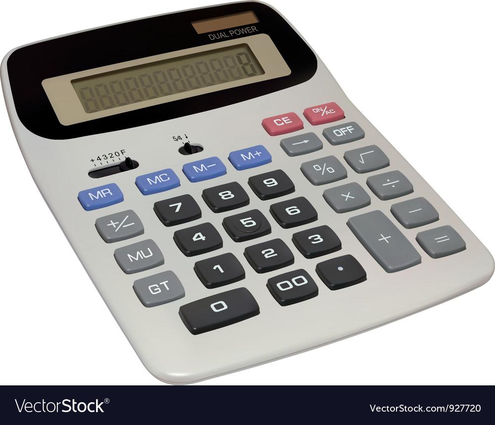 Calculator vector   Price: 3 Credit (USD $3)