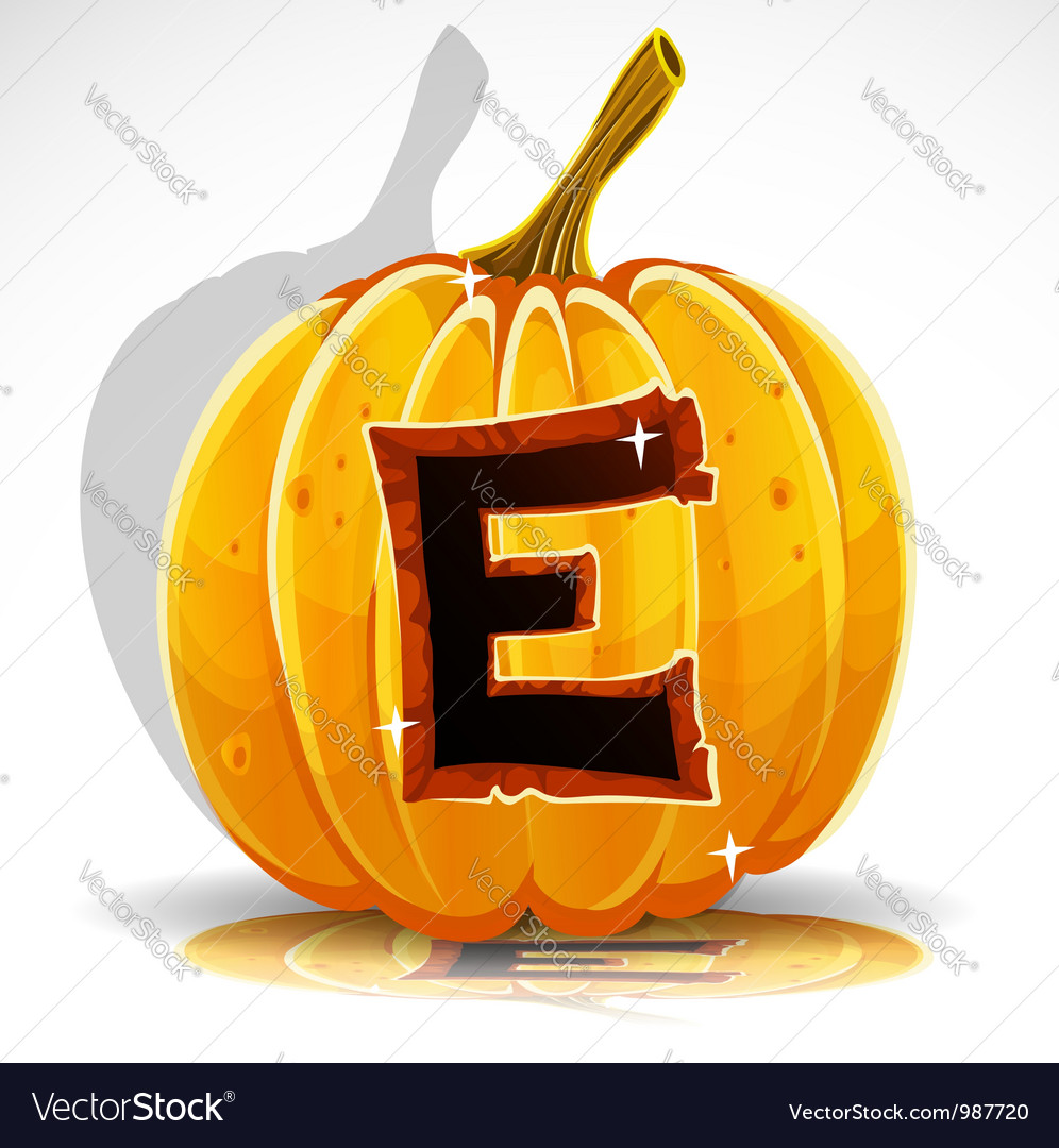 Halloween pumpkin e vector | Price: 1 Credit (USD $1)