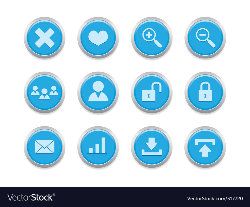 Internet icons vector | Price: 1 Credit (USD $1)
