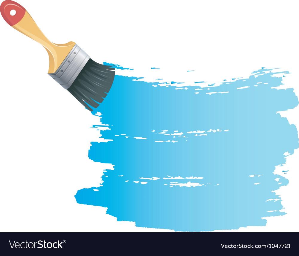 Brush back vector | Price: 1 Credit (USD $1)