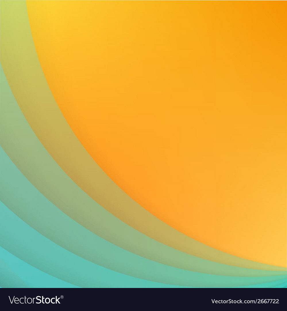 Abstract background with blue paper curves vector | Price: 1 Credit (USD $1)